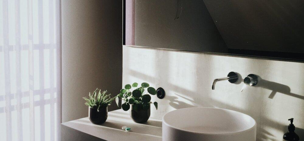 Trend vannitoas — pane rõhku detailidele