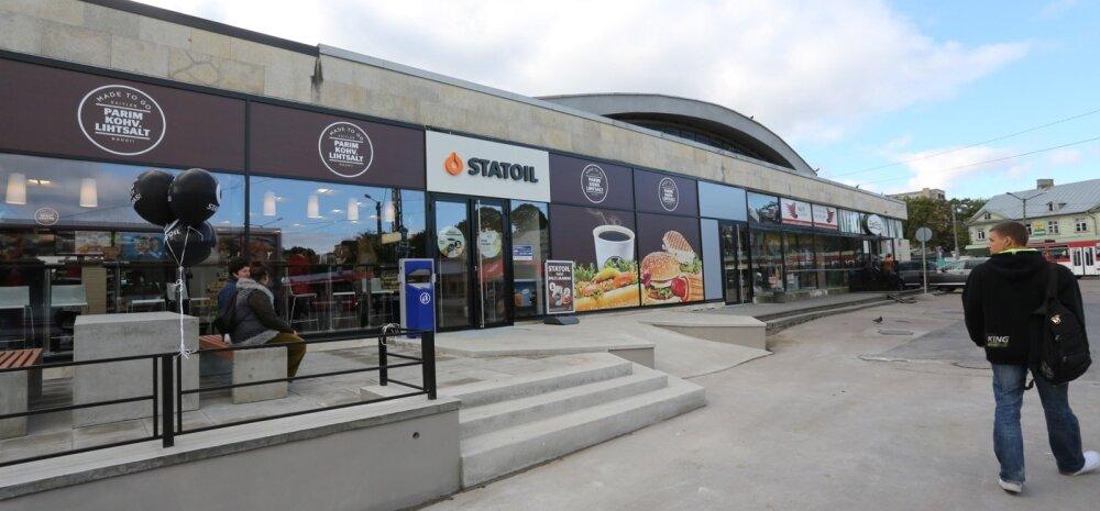 Statoili tanklata kohvik Balti jaamas