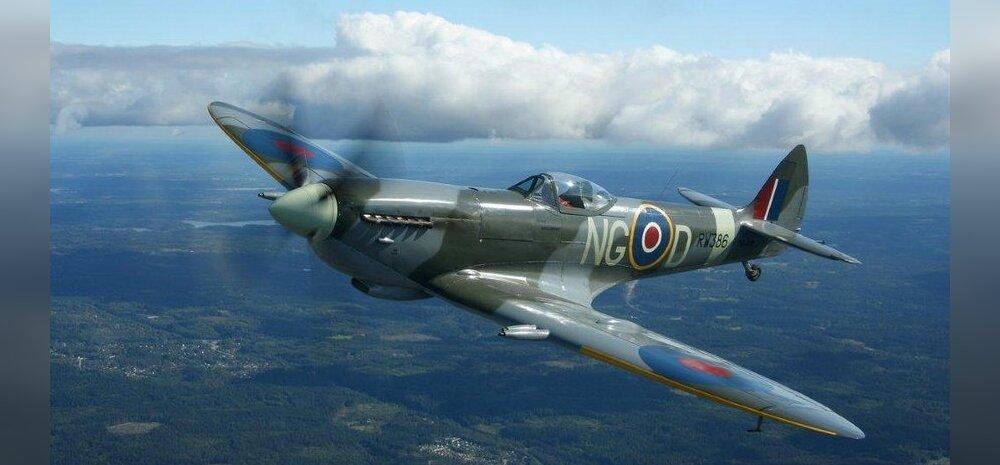Tuld sülitav Spitfire – suures sõjas Inglismaa kaitseingel