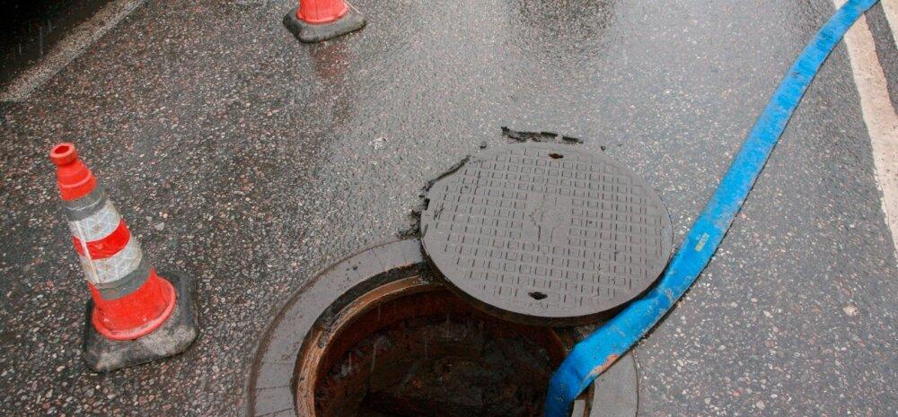 Enim õnnetusi põhjustas jaanuaris Eesti kodudes vesi