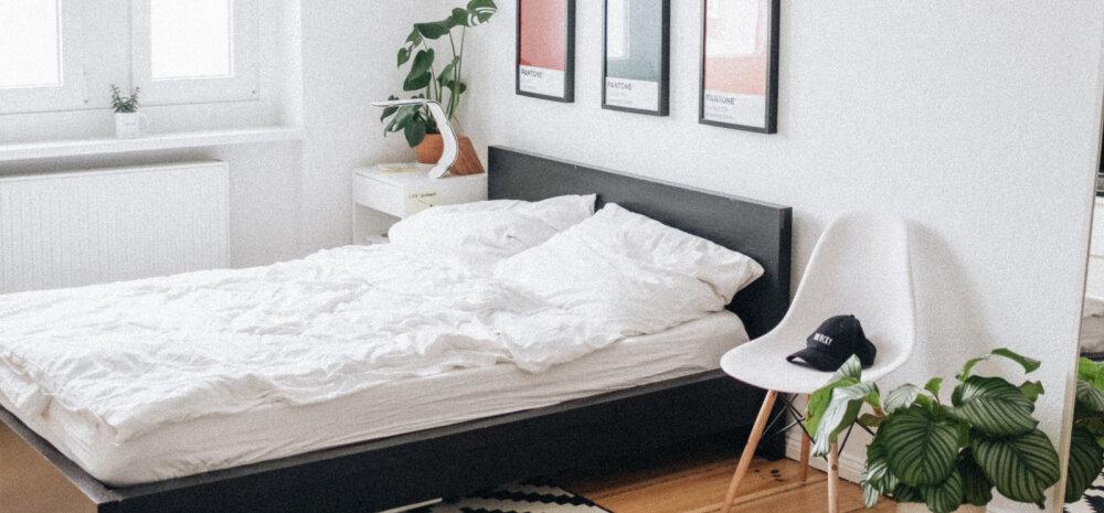 Asjad, mille peaksid magamistoast hea une nimel välja viskama