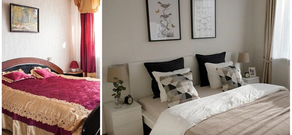 ФОТО │ До и после: из мрачной и старомодной спальни — в светлую и уютную
