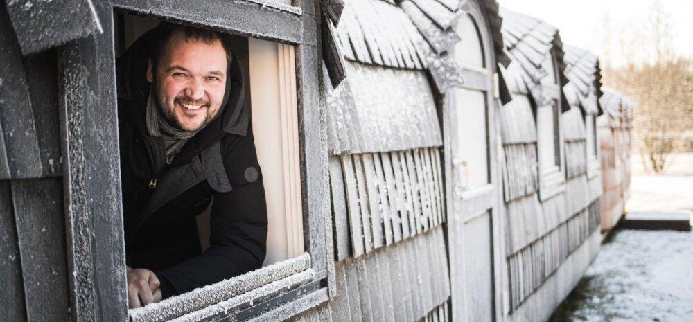 Iglucrafti üks omanik Priit Kallas kinnitab, et nende igluonnid ja -saunad hoiavad ka kõige suurema pakasega väga hästi sooja.