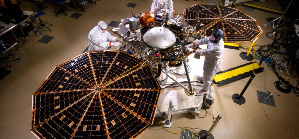 NASA oli sunnitud Marsi-maanduri parandamiseks tootjale tagasi saatma