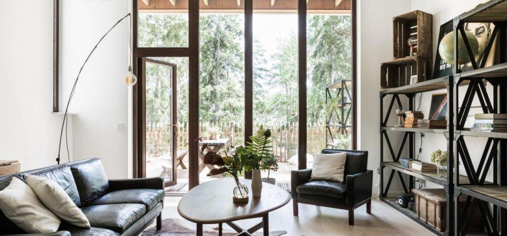 FOTOD │ Kodu, kus kohtuvad minimalism ja maalähedane stiil