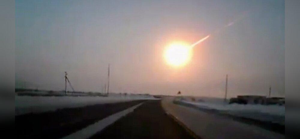 VIDEOD: Venemaa Tšeljabinski oblastisse kukkus meteoriit