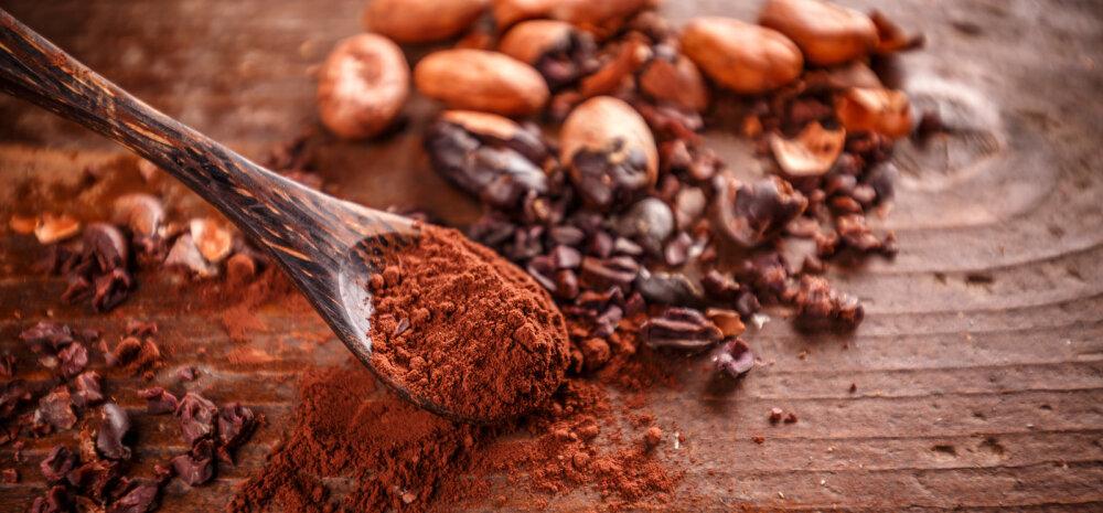 Kakao — vitamiini staatuseta imeaine
