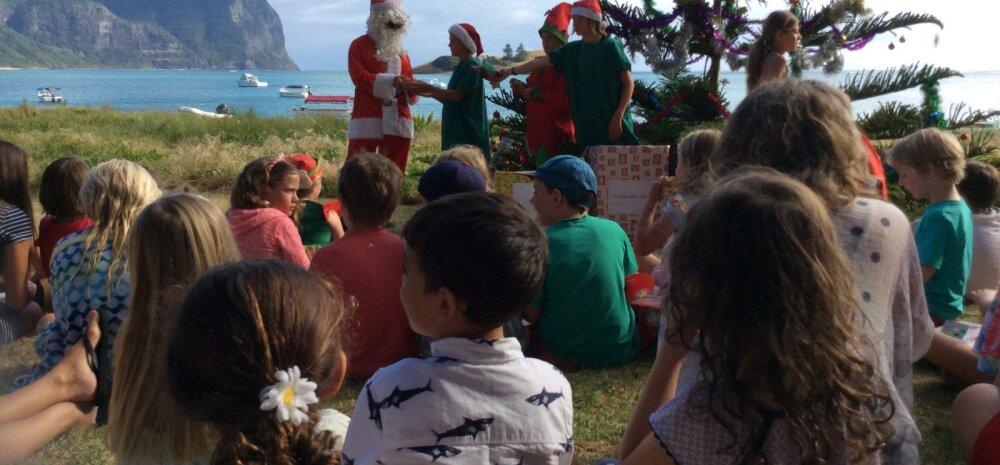 Eestlaste jõulud välismaal: Austraalias tähistatakse jõule rannas või aiapeol