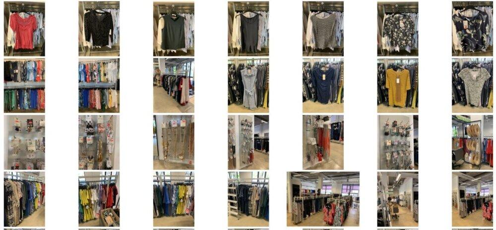 FOTOD | Ootamatu areng. Eesti rõivatootmise suurnimi ei maksa renti. Tohutu kogus riideid ja muud nodi pannakse oksjonile