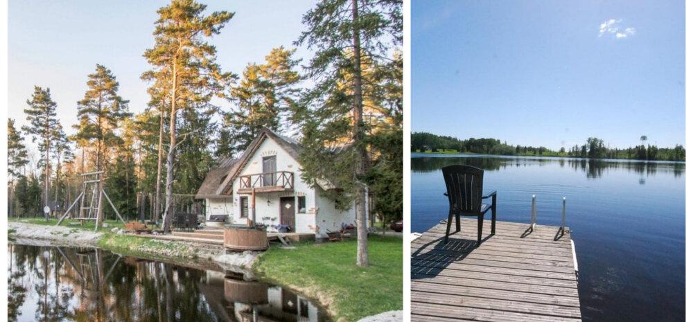 Unistad suvekodust järve kaldal? Vaata lummavaid elamisi, mis uut omanikku otsivad!