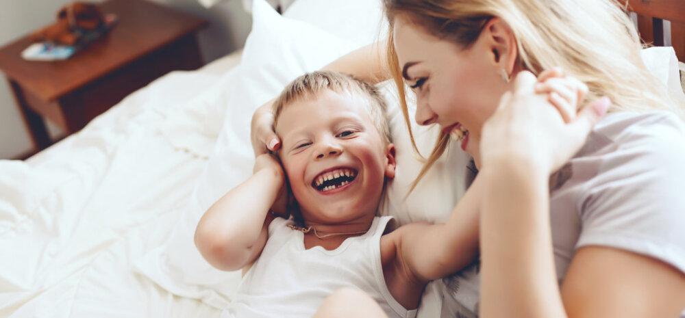 Kas sina paned oma lapse magama nii, nagu seda tehakse Hollandis, või nii nagu Indoneesias?
