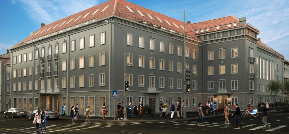 ФОТО | Творческие люди найдут свой новый дом в Teatri Maja в самом центре столицы