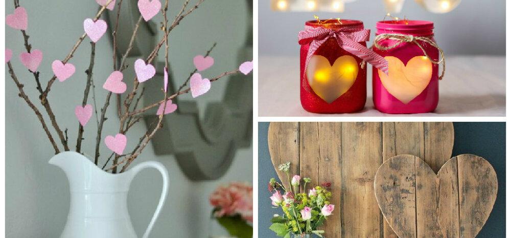 TEE ISE | Lihtsad ideed, kuidas valentinipäeva puhul kodu kaunistada