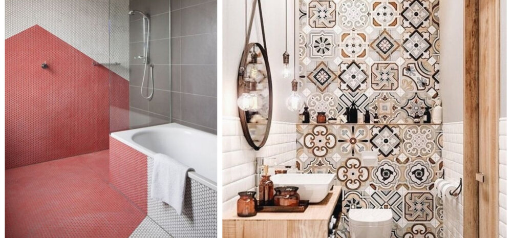 17 ideed, kuidas vannituba tõeliselt värvikaks plaatida