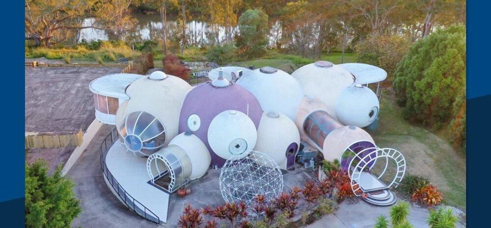 ФОТО   В Австралии выставили на продажу дом из пузырей