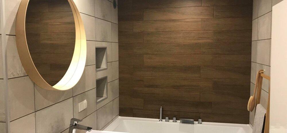 """""""MEIE KODU 2018"""" │ Maalähedastes toonides vannituba"""