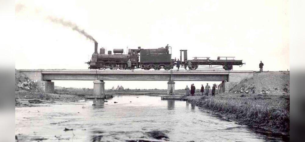 Rööpad maha Tartust Petserini, ehk kuidas ehitati raudteed eesti ajal