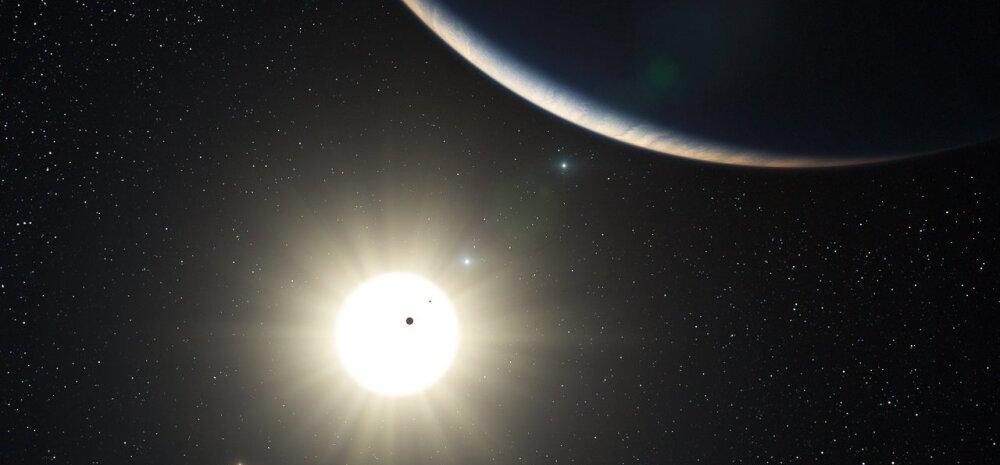 Kaheksa planeediga Päike on veel tähtede seas esikohal, aga kaotab selle varsti