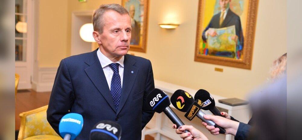 Rahandusminister Jürgen Ligi astus tagasi