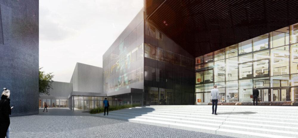 Заложен краеугольный камень нового учебного корпуса Таллиннского университета