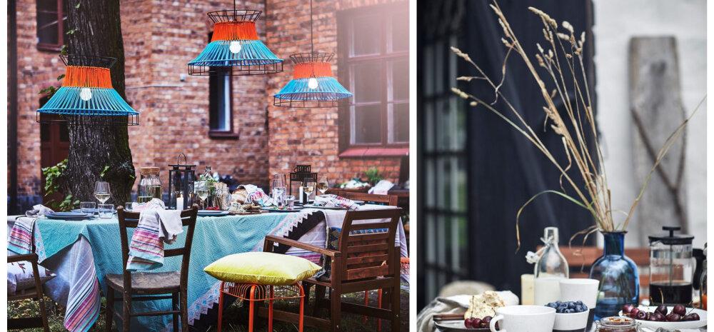 FOTOGALERII │ IKEA suvekollektsioon viib mõtted aiapidudele, päikesele ja rohelusele