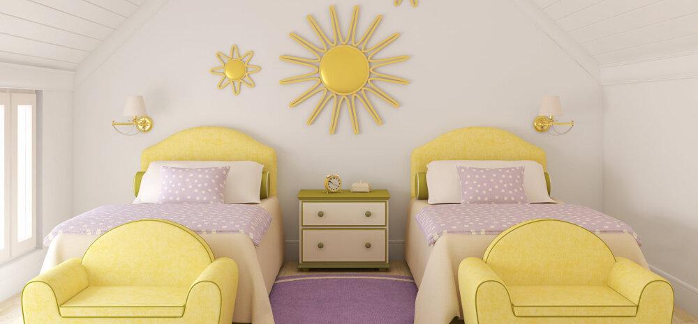 Üks tuba kahele lapsele — kuidas kujundada?