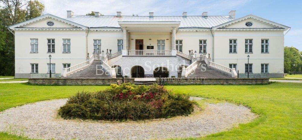 ФОТО | Более 30 комнат и площадка для вертолета. В Харьюмаа выставлена на продажу роскошная мыза