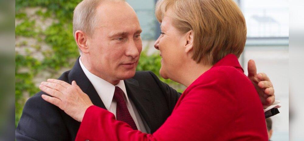 Merkel: NATO alalisi väeüksusi Baltikumi ei tooda