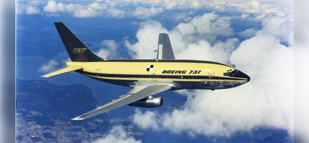 BOEING 737: Lennus ilmselt ka oma sajandal sünnipäeval