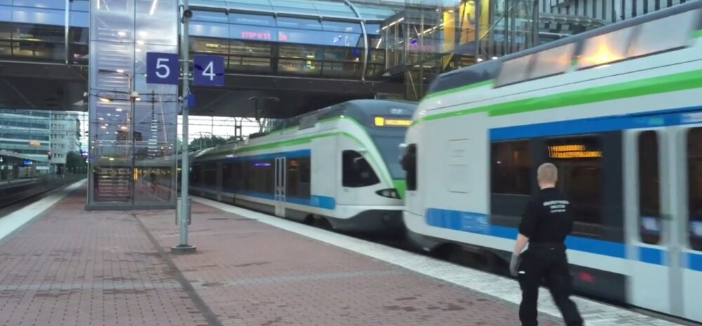 Helsingis avati rongiliin lennujaama ja kesklinna vahel