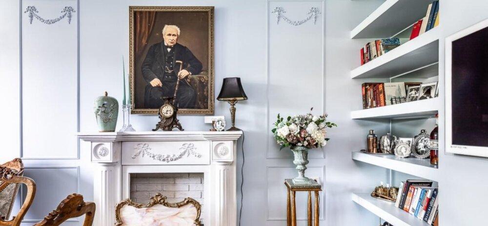 ФОТО   Королевское великолепие! Эта квартира в обычной мустамяэской панельке напоминает роскошный французский замок