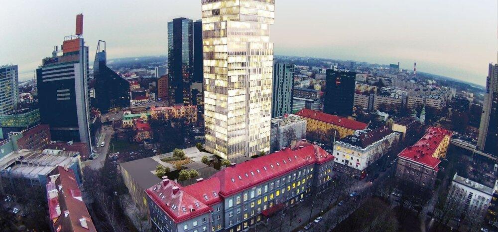 ФОТО | Более 200 новых квартир: Estonian Business School построит небоскреб в центре Таллинна