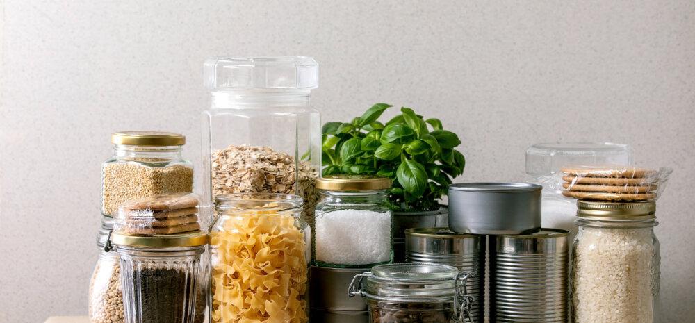 TASUB TEADA | 20 toiduainet, mis säilivad väga pikka aega