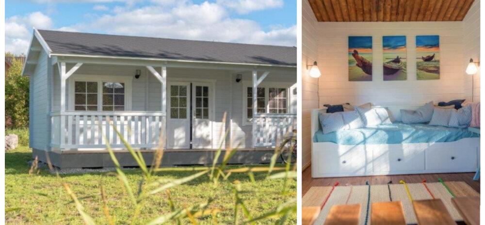 Морская тематика и уют: дачный домик на острове Сааремаа