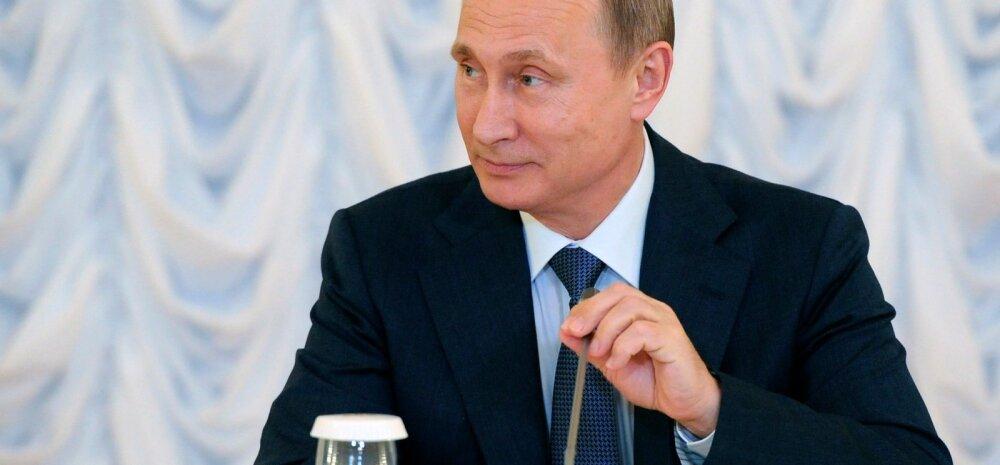 Putin: Venemaa ei tunnista Haagi kohtu volitusi
