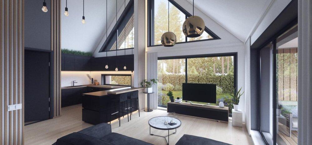 ФОТО | На любой вкус! 5 частных домов в Харьюмаа с необычным дизайном