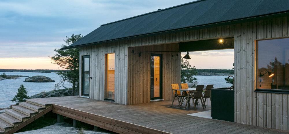FOTOD   Idülliline kodu saarel töötab päikesepaneelidel ja filtreeritud mereveel