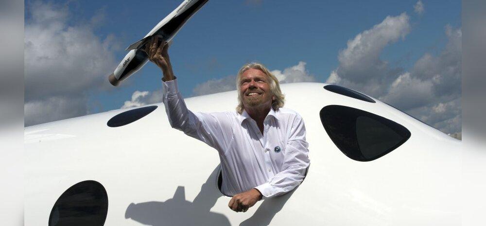Richard Bransoni suur kosmoseunistus.