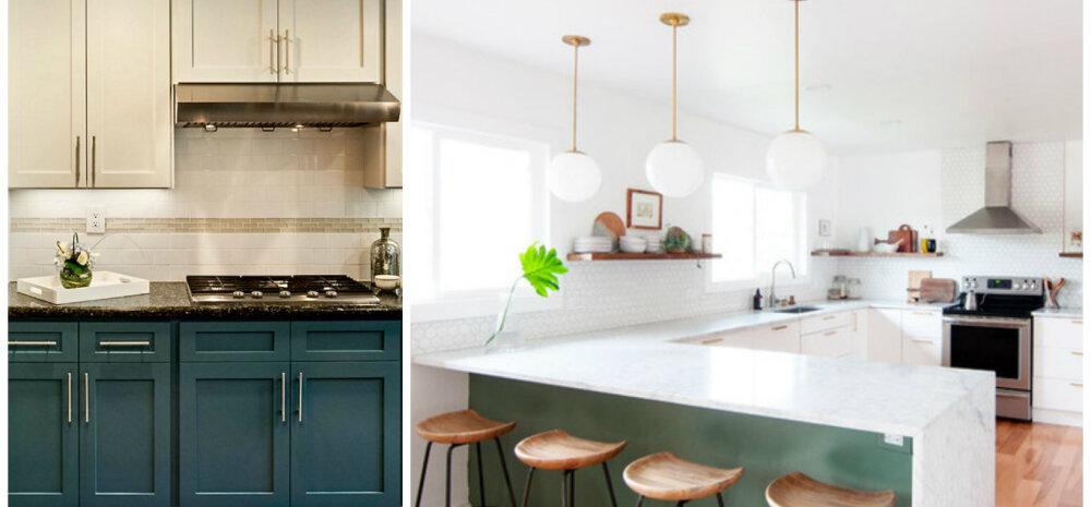 FOTOD │ Kolm kööki enne ja pärast renoveerimist