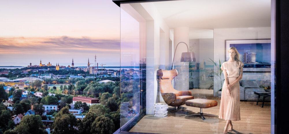 ФОТО │ На продажу выставлена самая большая и дорогая в Эстонии люксовая квартира
