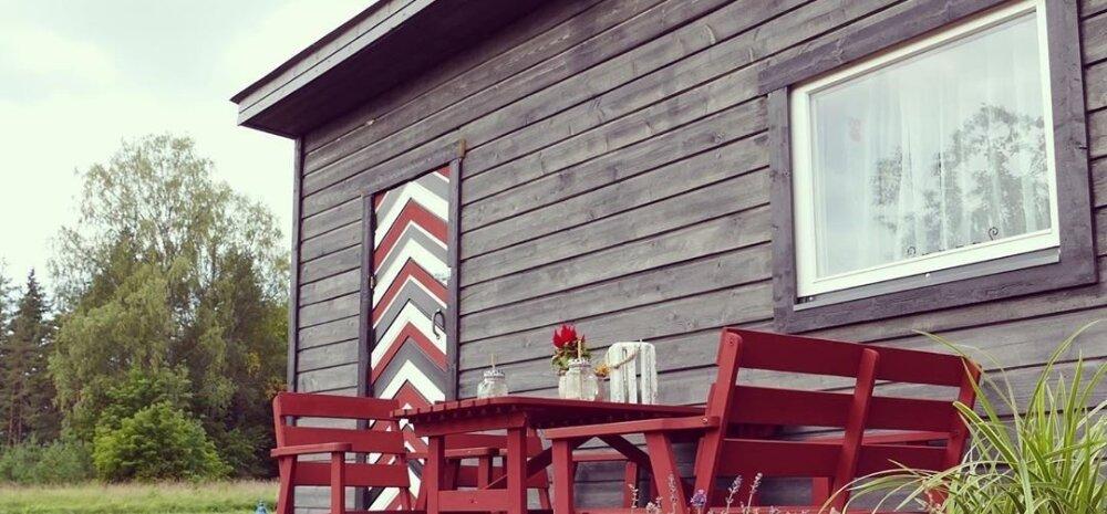 ФОТО | Предприимчивая жительница Эстонии построила дом всего за 2000 евро