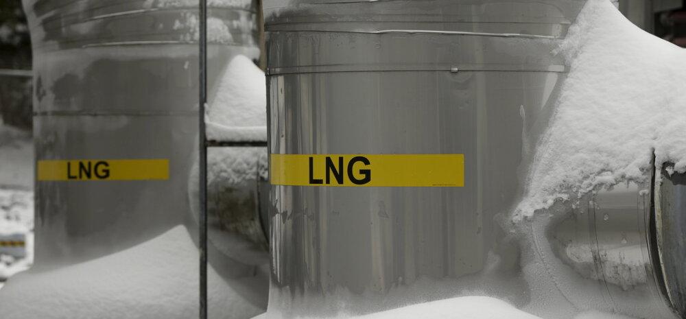 Baltikumi esimene LNG-baasil toimiv tankla sai kasutusloa