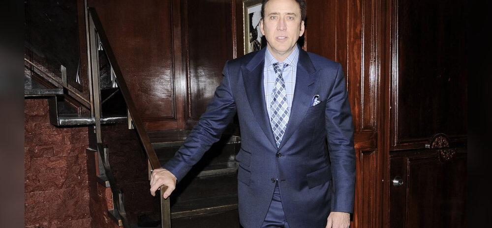 Raha suunas rattad kraavi: Nicolas Cage laristas varanduse maha