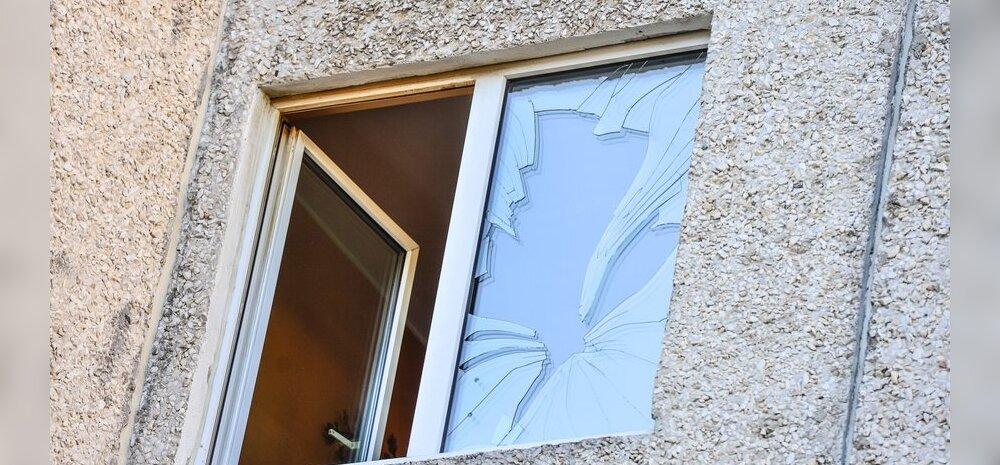 Paekaare tänaval plahvatas kööki visatud granaat