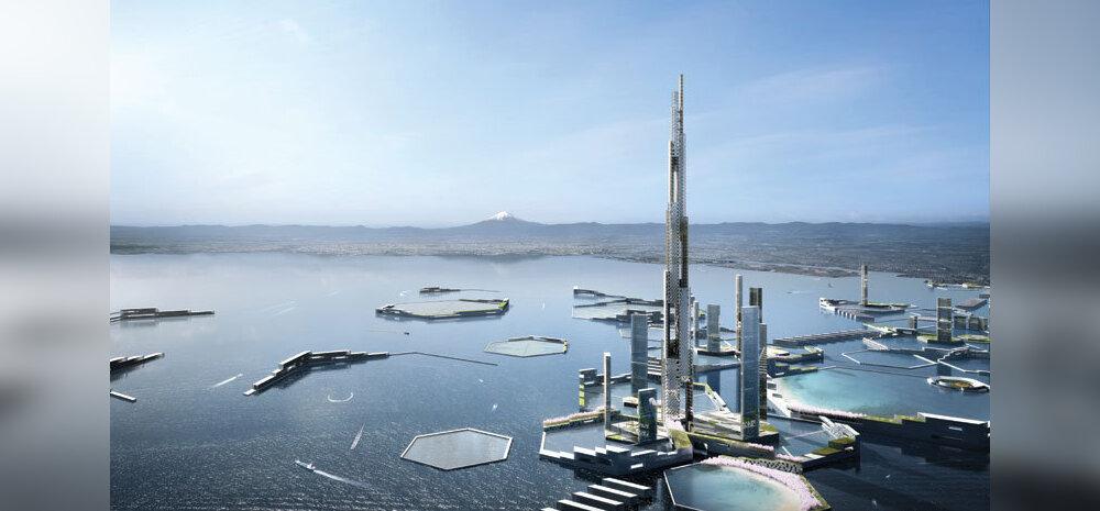 Tuleviku Tokyosse on planeeritud <em>hyperloop</em> ja pooleteise kilomeetrine pilvelõhkuja