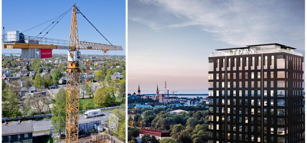 ФОТО │ Вдохновленный высотками Манхэттена: заложен краеугольный камень самого уникального здания Эстонии