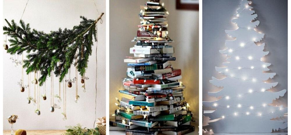 FOTOD | Vaata lahedaid alternatiive traditsioonilisele jõulupuule