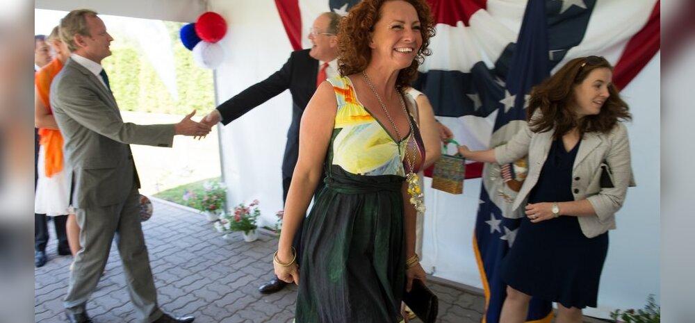FOTO: Krista Lensin säras USA saatkonna pidulikul vastuvõtul