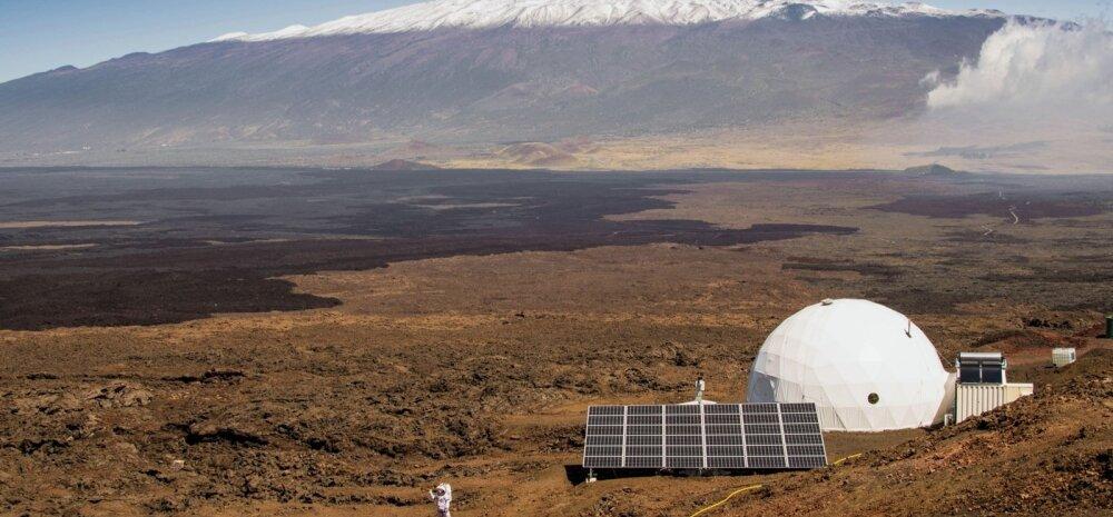 Marsi-projekti teadlased lõpetasid kaheksakuulise isolatsiooni kuplis