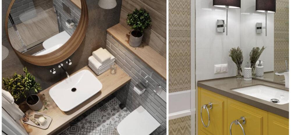 ФОТО | ТОП-10 лучших идей для маленьких ванных